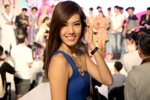 Miss Universe Singapore winner has passion for fashion