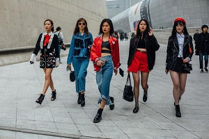 Asian fashion clothing trends