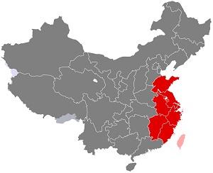 China Wholesale Fashion – East China Region