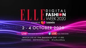Elle Digital Fashion Week 2020 – Thailand